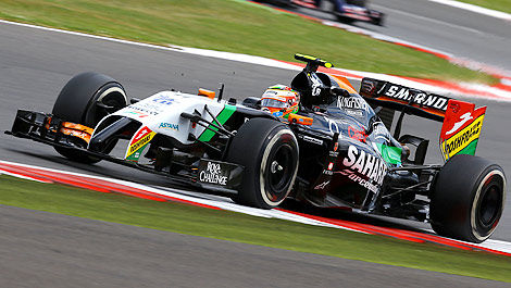 F1 Sergio Perez Sahara Force India