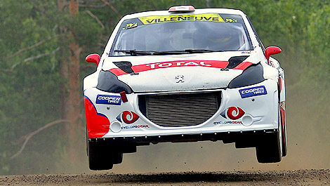 Rallycross Albatec Racing Jacques Villeneuve