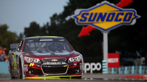 Jeff Gordon NASCAR Watkins Glen