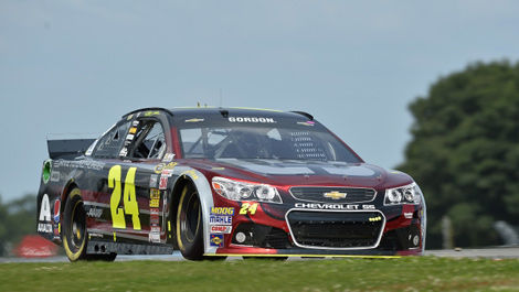 Jeff Gordon NASCAR Watkins Glen International