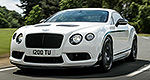 La Bentley Continental GT3-R à Pebble Beach