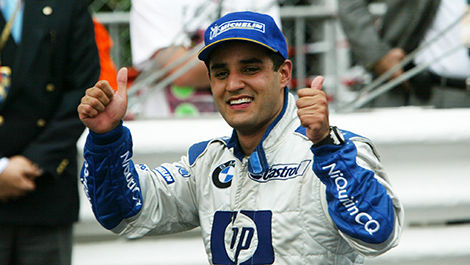 Juan Pablo Montoya, winner of the 2003 Monaco Grand Prix.