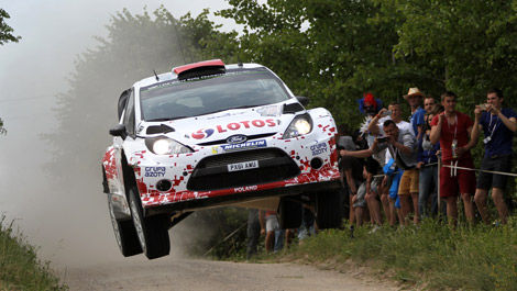 Robert Kubica, Ford Fiesta RS WRC