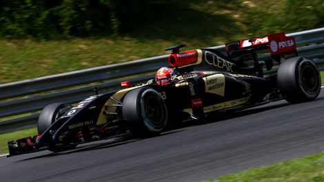 Romain Grosjean, Lotus E22