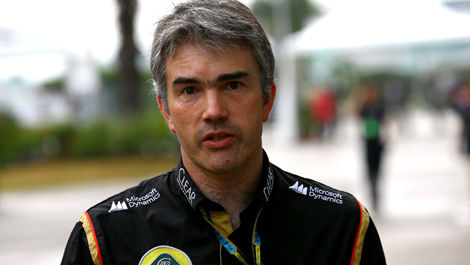 Nick Chester, Lotus F1 Team