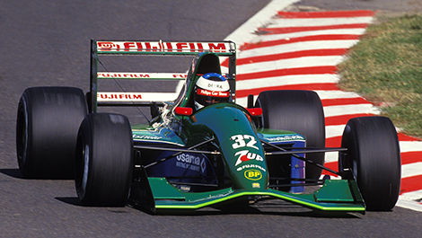 Michael Schumacher, Jordan-Ford 191