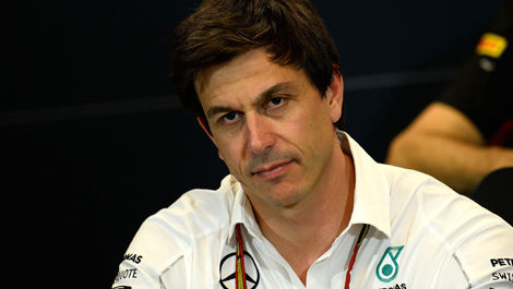 Toto Wolff Mercedes F1
