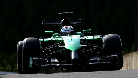 Andre Lotterer, Caterham CT05 Spa-Francorchamps F1