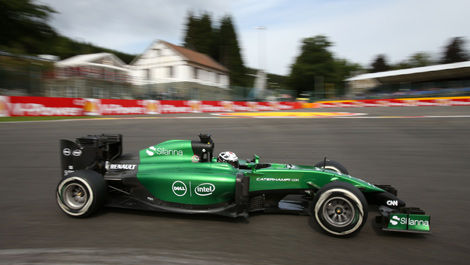 Andre Lotterer, Caterham CT05 F1 Spa-Francorchamps