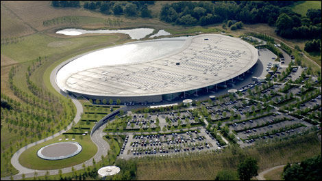 F1 McLaren headquarter Woking
