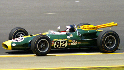 Jim Clark 1965 Indianapolis 500 Lotus-Ford 38/1
