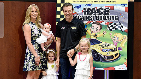 NASCAR Katie Kenseth Matt Kenseth family