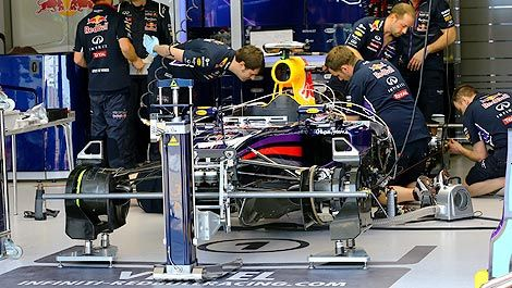 F1 Red Bull RB10 chassis