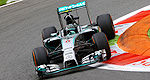 F1: Nico Rosberg leads the way in Monza