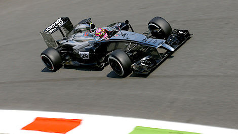 F1 McLaren-Mercedes Jenson Button