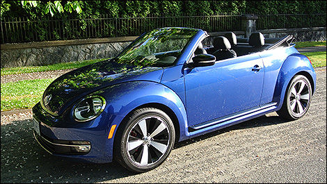 2014 Volkswagen Beetle Convertible Turbo