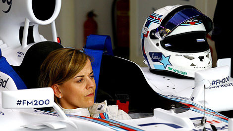 F1 Williams FW36-Mercedes Susie Wolff