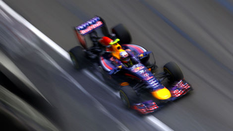 Daniel Ricciardo, Red Bull RB10 Singapore F1