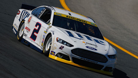 Brad Keselowski Penske Racing Ford New Hampshire NASCAR
