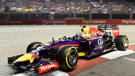 F1 Red Bull Racing Singapore Daniel Ricciardo