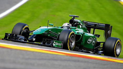 F1 Caterham Andre Lotterer Spa-Francorchamps