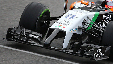 F1 Sahara Force India front VJM07
