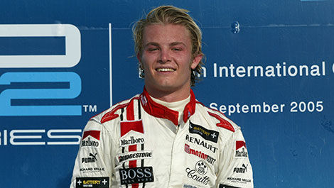 GP2 Nico Rosberg 2005 Hugo Boss