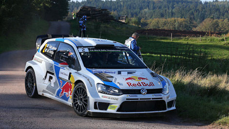 Jari-Matti Latvala, VW Polo R WRC France