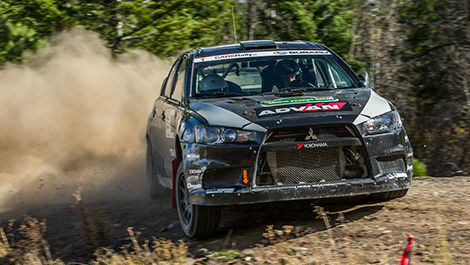 Rally Mitsubishi Lancer Antoine L'Estage