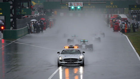 F1 Grand Prix of Japan start safety car