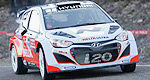 Rally: Hyundai tests all-new i20 WRC