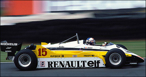 F1 Alain Prost Renault 1981