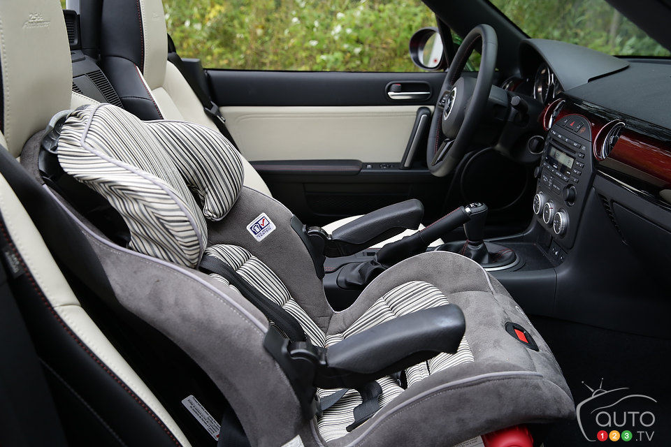 Can I Install A Child Seat In Mazda MX 5