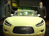 Hyundai Shows New HCD8 Sports Tourer Concept in Detroit