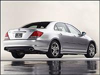 Acura RL ASpec Preview Car News Auto - 2005 acura rl engine