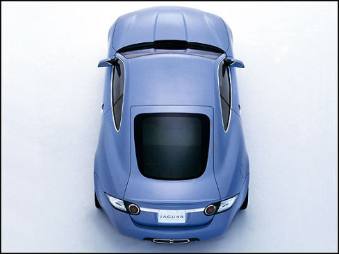 2005 Jaguar Advanced Lightweight Coupe Concept Car News Auto123