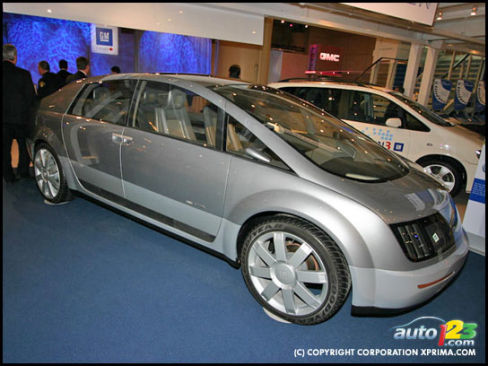 Gm Hy Wire Concept Industry Auto123