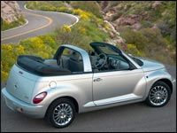Quiet interior key to PT Cruiser changes for 2006 | Car News