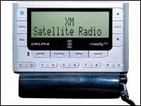 Comment voulez-vous brancher la radio SIRIUS dans la voiture