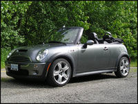 2006 Mini Cooper S Convertible Road Test