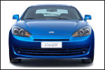 First pictures of the 2007 Hyundai Tiburon