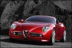 Stunning Alfa Romeo 8C Competizione makes world debut in Paris
