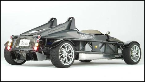 New Deronda Sports Car a road-ready formula racer | Car News | Auto123