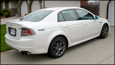 Acura TL TypeS Road Test Editors Review Car Reviews Auto - Acura tl type s wheels