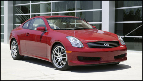 2007 infiniti g35 coupe road test editor 39 s review car. Black Bedroom Furniture Sets. Home Design Ideas