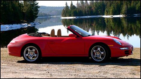 2007 Porsche 911 Carrera 4s Cabriolet Road Test Editors Review