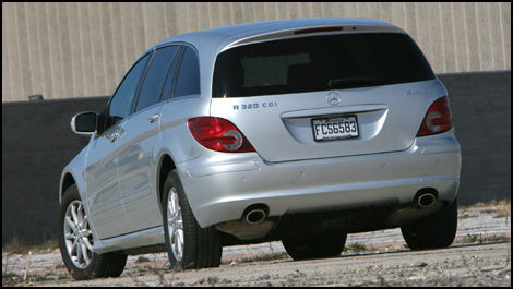 2007 Mercedes-Benz R320 CDI 4MATIC Road Test Editor's Review | Car ...