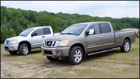 2008 Nissan Titan Gets The Extra Long Treatment.