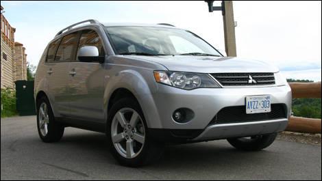 Mitsubishi outlander xls 2007