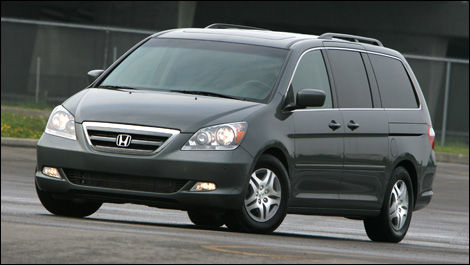 Beautiful 2007 Honda Odyssey Touring Road Test